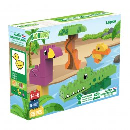BiOBUDDi Wildlife Eco Blocks - Lagoon