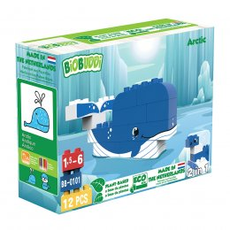 BiOBUDDi Wildlife Eco Blocks - Arctic