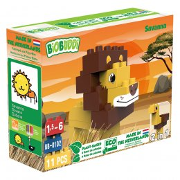 BiOBUDDi Wildlife Eco Blocks - Savanna