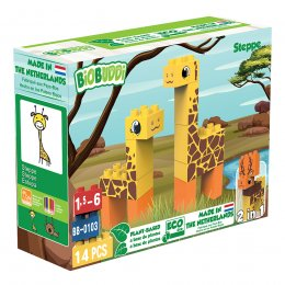 BiOBUDDi Wildlife Eco Blocks - Steppe