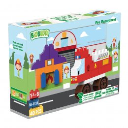 BiOBUDDi Town Eco Blocks - Fire Department
