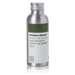 Conscious Skincare Sweet Almond Oil with Pump - 100ml