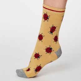 Thought Buttercup Insetto Bamboo Socks - UK4-7