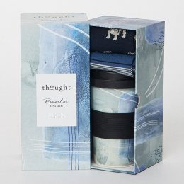 Thought Matteo Bamboo Cup & Socks Gift Set
