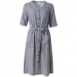Thought Catterina Striped Hemp Dress