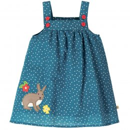 Frugi Steely Blue Haillie Linen Dress