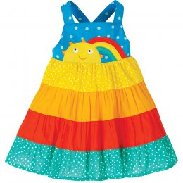 Frugi Rainbow Hotchpotch Mabli Sun Dress