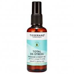 Tisserand Total De-Stress Massage & Body Oil - 100ml