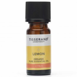Tisserand Organic Lemon Essential Oil - 9ml