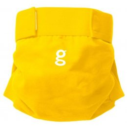 gNappies Sunshine Yellow Nappy Cover