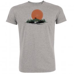 Green Bomb Nature Caravan T-Shirt - Grey