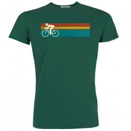 Green Bomb Bike Speed T-Shirt - Bottle Green