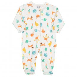 Kite Farm Garden Sleepsuit