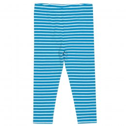 Kite Blue Mini Stripy Leggings