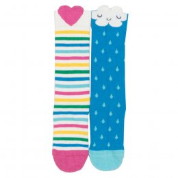 Kite Little Happy Cloud Socks - 2 Pairs