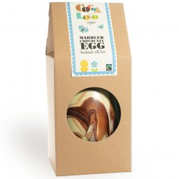 Cocoa Loco Giant Marbled Easter Egg - 1.25kg