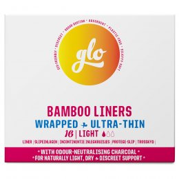 GLO Bamboo Liners for Sensitive Bladder - 16 liners