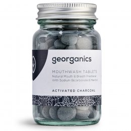Georganics Mouthwash Tablets - Charcoal - 180 Tabs