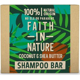 Faith in Nature Shampoo Bar - Coconut & Shea Butter - 85g