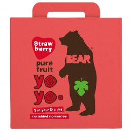 Bear Strawberry Yoyo Pure Fruit Rolls Multipack - 5 x 20g