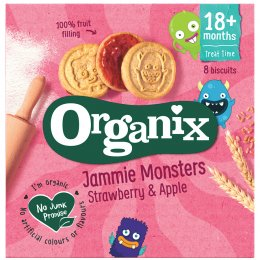 Organix Jammie Monsters Multipack - 8 x 8g
