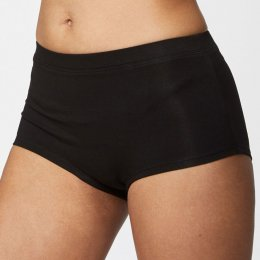 Thought Leah Organic Short Briefs - Black