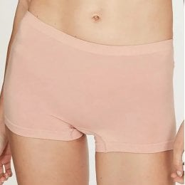 Thought Reneta Recycled Seamless Short Briefs - Blush
