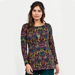 Nomads Aubergine Pocket Top