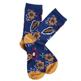 Nomads Midnight Floral Socks - UK4-7