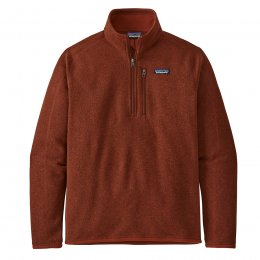 Patagonia 1/4 Zip Better Sweater Jacket - Barn Red