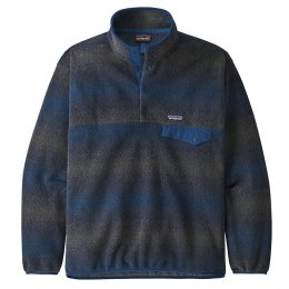 Patagonia Synchilla Snap-T Pullover - New Navy Stripe