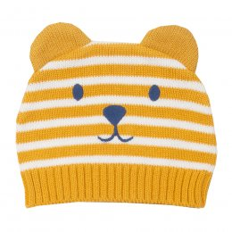 Kite Teddy Knit Hat - Mustard