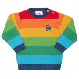 Kite Rainbow Tractor Jumper - 5yrs