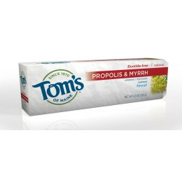 Toms of Maine Fluoride Free Toothpaste - Fennel 85ml