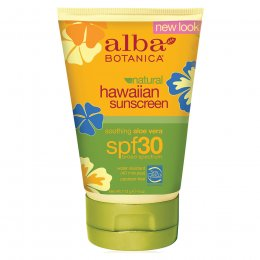 Alba Botanica Aloe Vera Sunscreen - SPF30 - 118ml