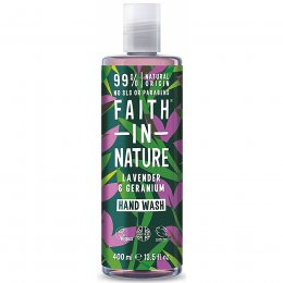 Faith in Nature Lavender & Geranium Hand Wash - 400ml