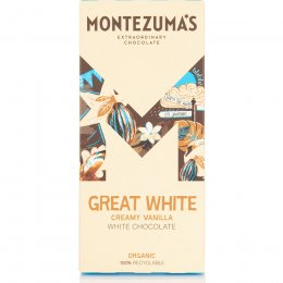 Montezumas Great White Creamy White Chocolate Bar - 90g