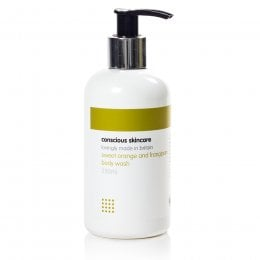 Conscious Skincare Sweet Orange & Frangipani Body Wash - 235ml