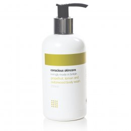 Conscious Skincare Grapefruit, Lemon & Cedarwood Body Wash - 235ml
