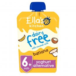 Ellas Kitchen Dairy Free Banana Yoghurt Alternative - 90g
