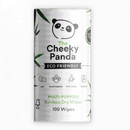 The Cheeky Panda Multi Purpose Dry Bamboo Wipes - 100 Wipes
