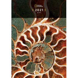 National Geographic 2021 A5 Diary