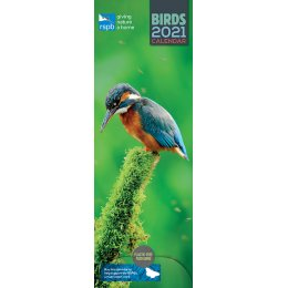 RSPB Birds 2021 Slim Wall Calendar