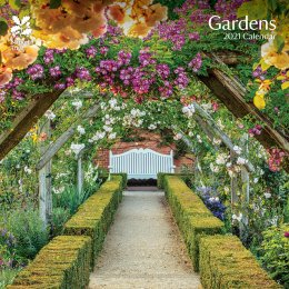 National Trust Gardens 2021 Wall Calendar