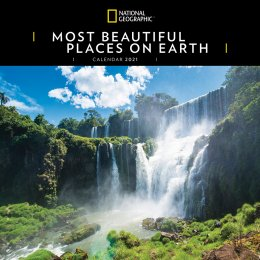 National Geographic Most Beautiful Places on Earth 2021 Wall Calendar