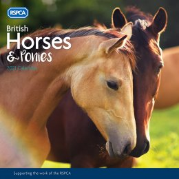 RSPCA British Horses and Ponies Wall Calendar