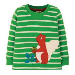 Frugi Stripe Squirrel Easy On Top