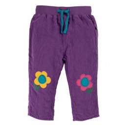 Frugi Thistle Little Cord Patch Trousers