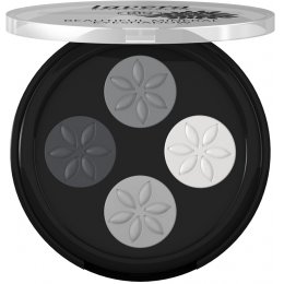 Lavera Beautiful Mineral Eyeshadow Quattro - Smoky Grey