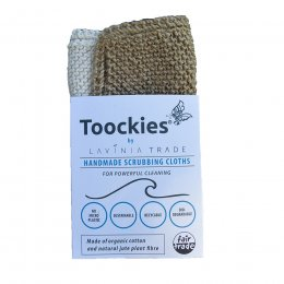Lavinia Toockies Scrubbers Cloths - Double Pack